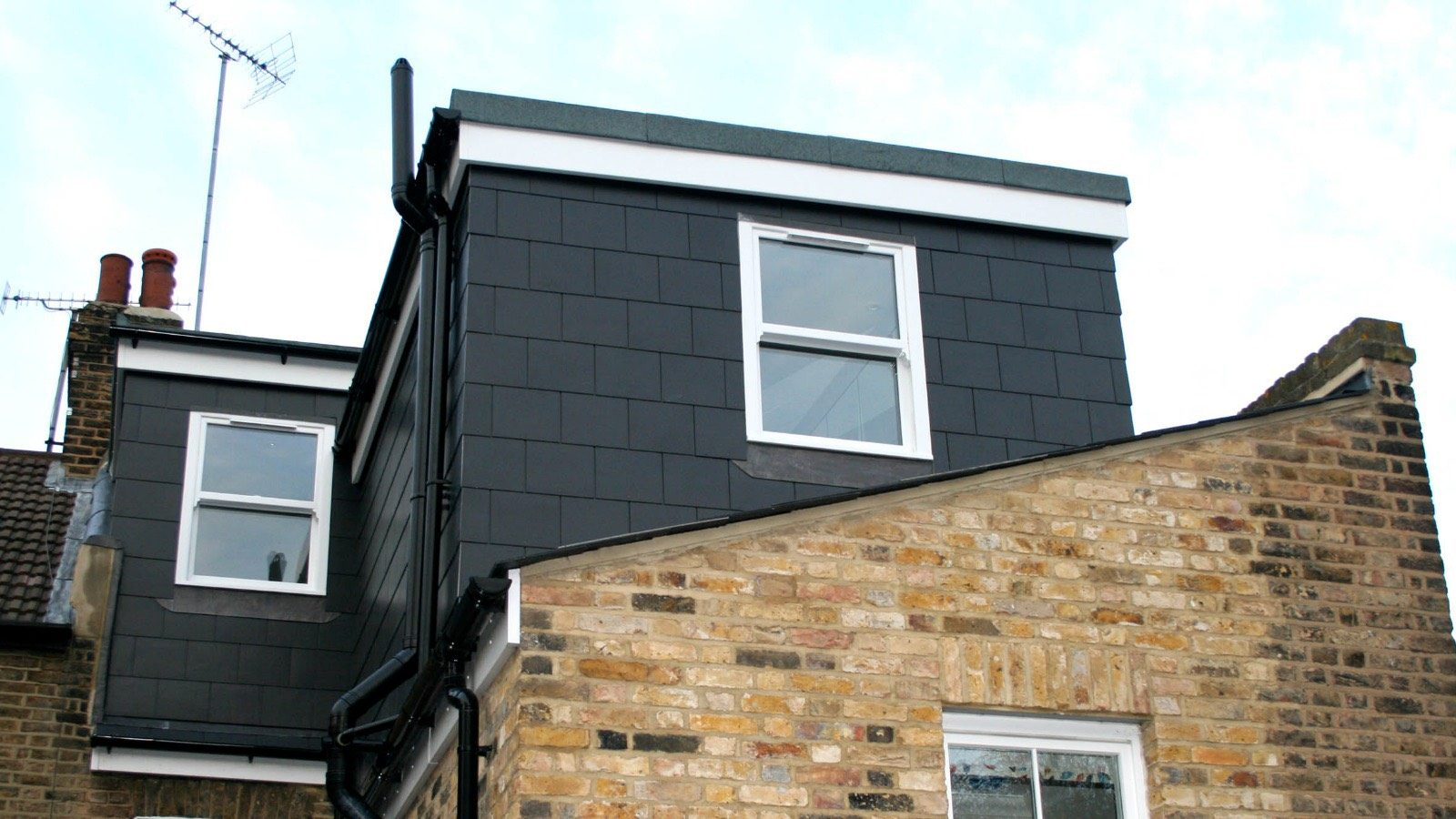 Planning permission for loft conversion - outside loft