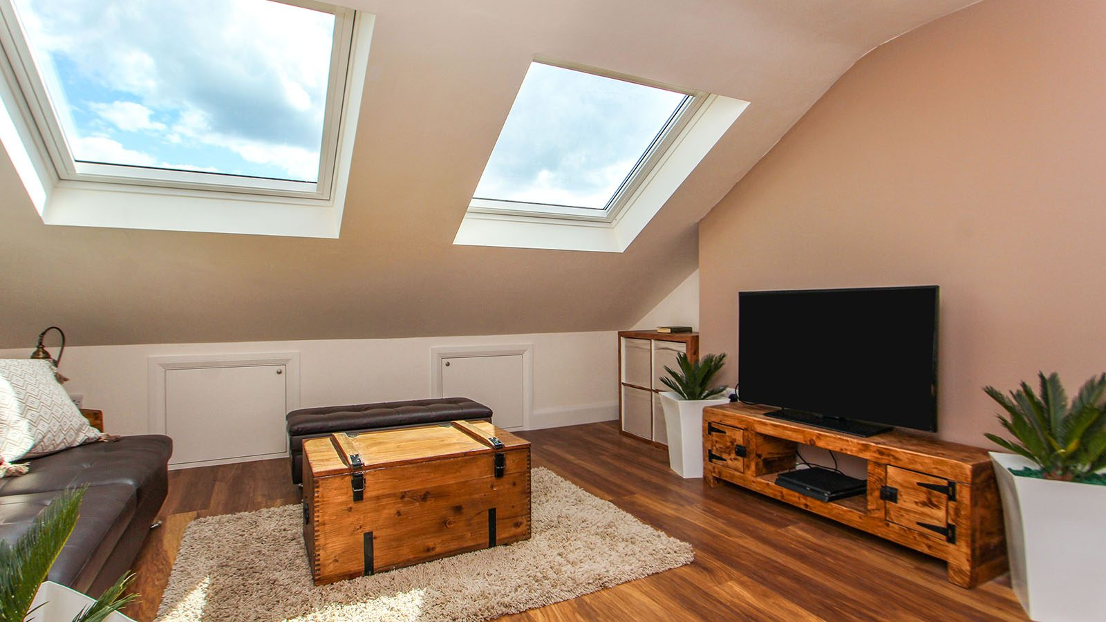 Loft conversion living room - how much does a loft conversion cost