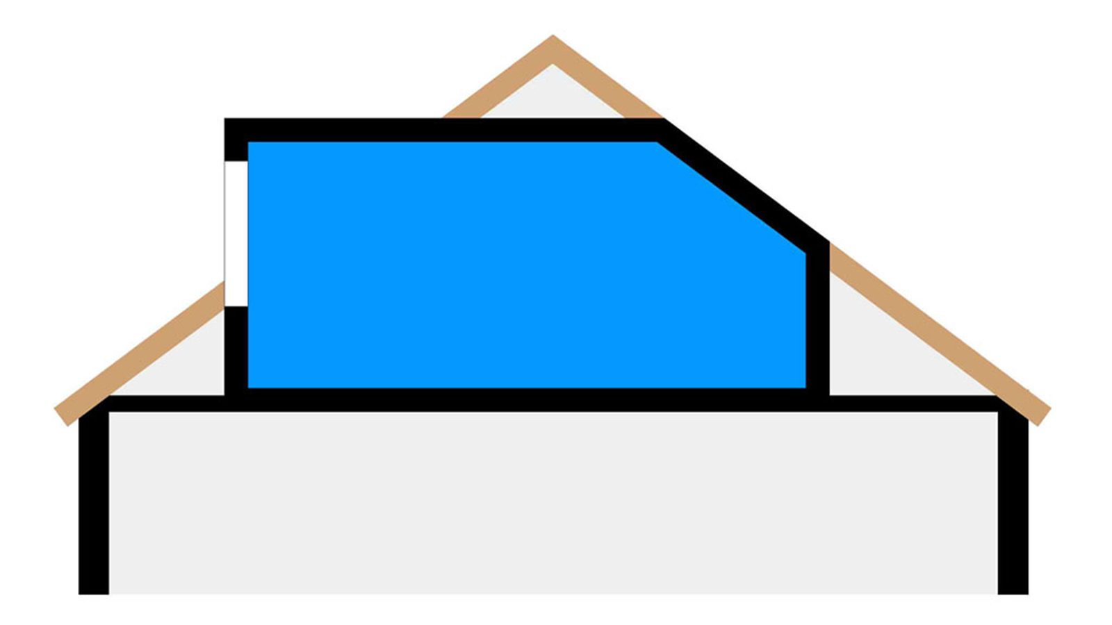 Dormer conversion drawing