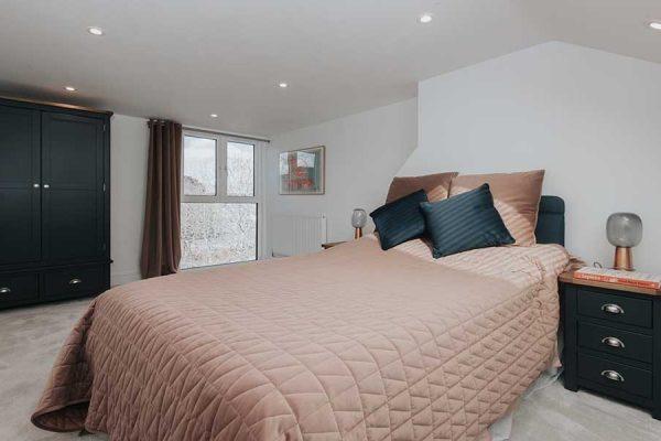 Greenwich loft extension bedroom